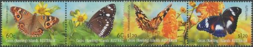 CKI SG475a-7a Butterflies set of 4 in pairs